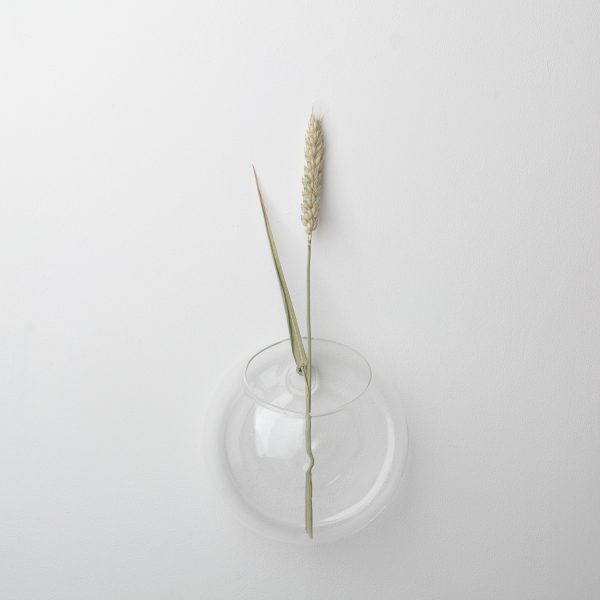 Glass wall hanging vase created by DBKD from a mouth blown glass.. StylishScandinavian style decor